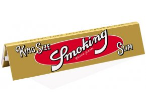 Papírky Smoking Gold Slim KS
