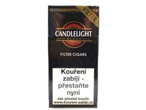 CANDLELIGHT Filter Black 10ks doprodej