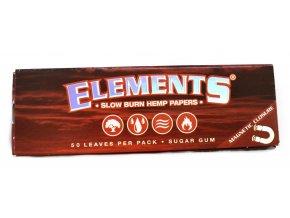Elements red 1 1/4 hemp (magnetické zavírání)