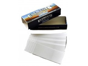 Elements gummed tips perforated