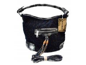 Dámská pletená kabelka MARIA.MARNI blue