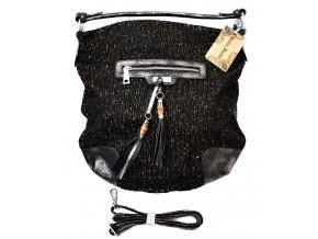 Větší dámská pletená kabela MARIA.MARNI black