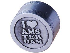 Drtička kovová 3-dílná BIG AMSTERDAM 01
