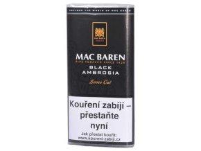 dymkovy tabak mac baren black ambrosia 50