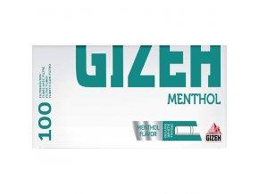 Cigaretové dutinky Gizeh Menthol 100ks