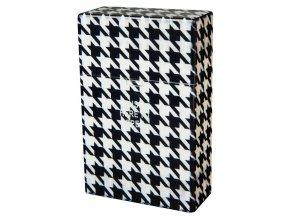Cigaretové pouzdro s auto otevíráním BLACK & WHITE