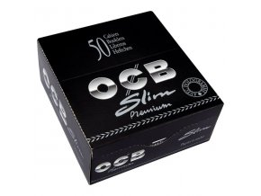 Cigaretové papírky OCB Slim Premium KS (Box 50x)
