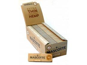 BOX (50x) Cigaretové papírky Mascotte Extra Thin Organic