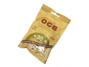 Cigaretové filtry OCB Slim Bio 120+30ks