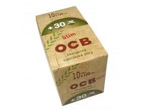 Cigaretové filtry OCB Slim Bio 120+30ks (BOX 10x)