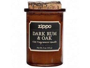 Zippo Dark Rum & Oak svíčka