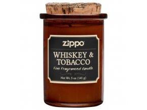 Zippo Whiskey & Tobacco svíčka