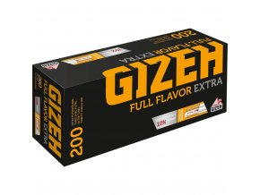 Dutinky GIZEH FULL FLAVOR 200 EXTRA - filtr 24mm! (QUALITY of GERMANY)