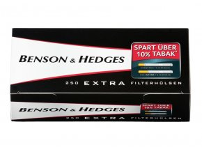 benson hedges extra cigarette tubes extra long filter