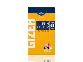 cigaretove filtre gizeh 100ks inhalt 8 mm