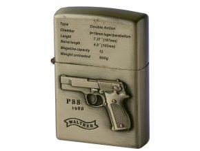 Benzínový zapalovač GUN WALTHER 02