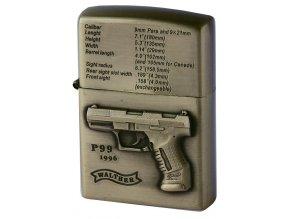 Benzínový zapalovač GUN WALTHER 03