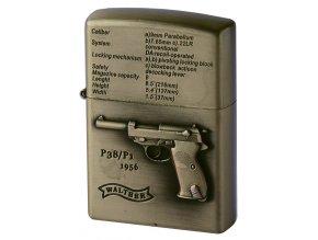 Benzínový zapalovač GUN WALTHER 04