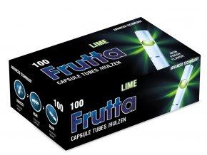 10x Práskací dutinky FRUTTA LIME 100ks - filtr 20mm!