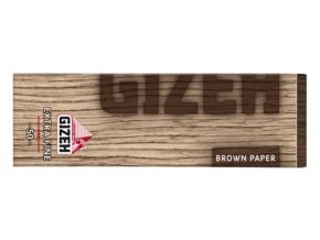 gizeh brown extra fine cigaretove papirky