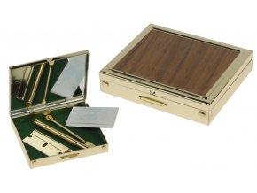 Šňupací box Wooden Kit Golden II. jakost