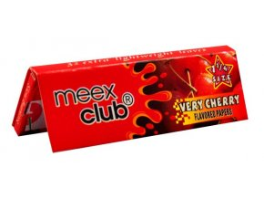 meex club very cherry cigaretove papirky