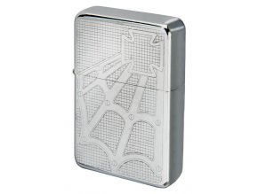 Benzínový zapalovač ALASKA CASE v plechové krabičce 22