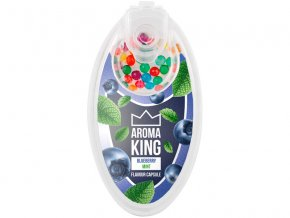 aroma king aromakugeln blueberry mint blaubeere minze