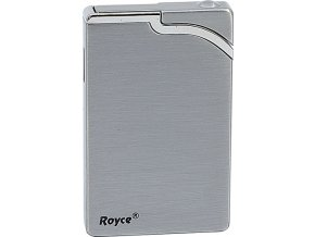 Zapalovač Royce Silver Turbo