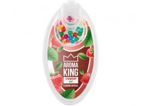 aroma king aromakugeln strawberry mint erdbeere minze