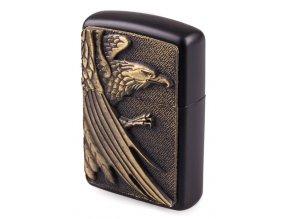 Benzínový zapalovač AMERICAN EAGLE BLACK 04