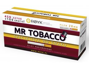 Dutinky Mr Tobacco 450+100 - filtr 20mm