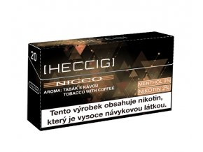 hecmaniacz heccig nicco napln do pristroje heat not burn kava krabicka