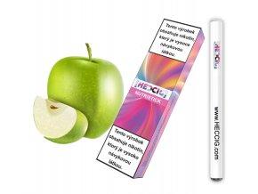hecmaniacz nutristick jednorazova elektronicka cigareta jablko bila