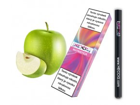 hecmaniacz nutristick jednorazova elektronicka cigareta jablko cerna