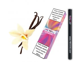 hecmaniacz nutristick jednorazova elektronicka cigareta vanilka cerna