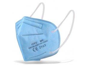 respirator ffp2 modry i145840