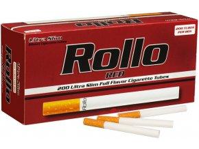 rollo red slim 200ks cigaretove dutinky