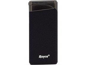 Dárkový zapalovač Royce Black Matte
