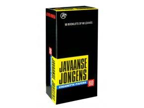 Cigaretové papírky Javaanse jongens box (50ks)