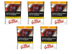5x Chesterfield red