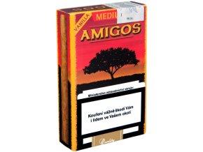 Amigos Medium Vanilla 10ks - tabákový krycí list