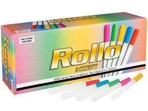Barevné dutinky ROLLO ACCENT 200