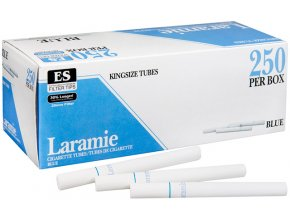 Bílé dutinky LARAMIE Blue 250 - filtr 20mm
