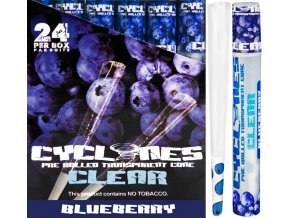 Cyclones Clear Blueberry 1ks