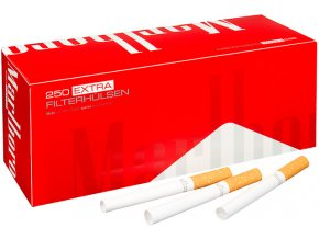 Dutinky EXTRA MARLBORO RED 250 (QUALITY of GERMANY) - filtr 24mm!