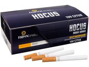 Dutinky HOCUS 100 (stejné filtry jako Marlboro)