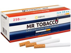 Dutinky Mr. Tobacco 250 - filtr 25mm
