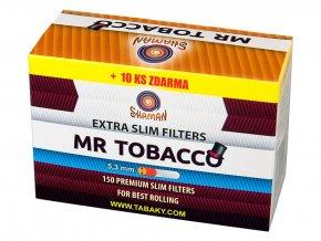 Filtry Extra Slim MR TOBACCO 150+10ks (dodavatel pro CAMEL)