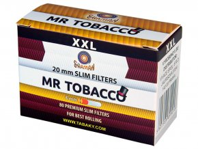 Filtry Slim MR TOBACCO 120+10ks (dodavatel pro CAMEL)